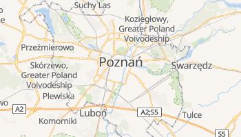 Poznan online map