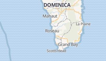Roseau online map