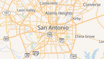 San Antonio online map