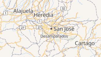 San Jose online map