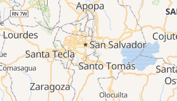 San Salvador online map