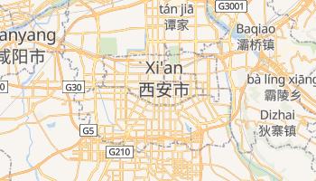 Sian online map