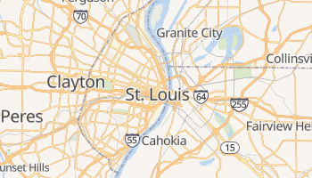 St. Louis online map