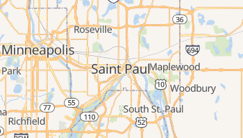St. Paul online map