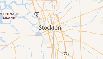 Stockton online map