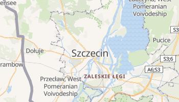Szczecin online map