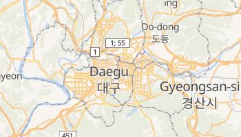 Taegu online map