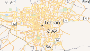 Tehran online map