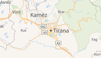 Tirana online map