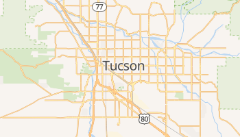 Tucson online map