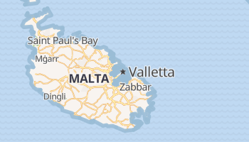 Valletta online map