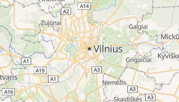 Vilnius online map