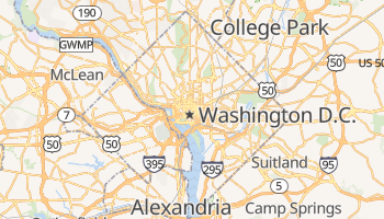 Washington online map