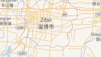 Zibo online map