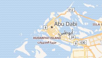 Mapa online de Abu Dhabi