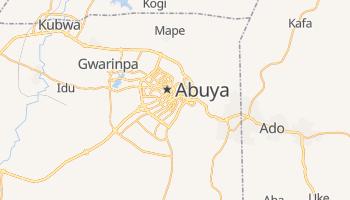 Mapa online de Abuja
