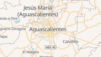 Mapa online de Aguascalientes