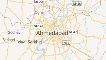 Mapa online de Ahmedabad