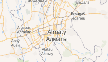 Mapa online de Almaty