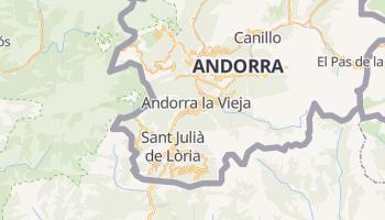Mapa online de Andorra la Vella