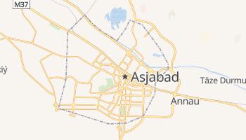 Mapa online de Aşgabat