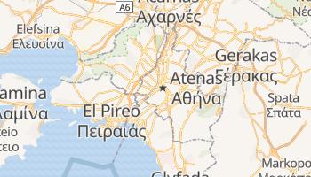 Mapa online de Athens