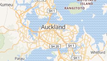 Mapa online de Auckland