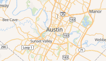 Mapa online de Austin