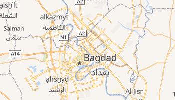 Mapa online de Bagdad