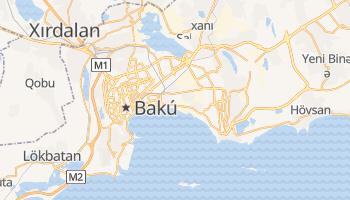 Mapa online de Bakú