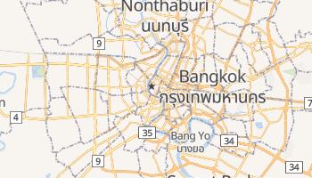 Mapa online de Bangkok