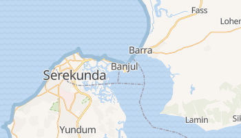 Mapa online de Banjul