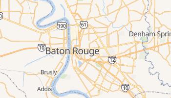 Mapa online de Baton Rouge