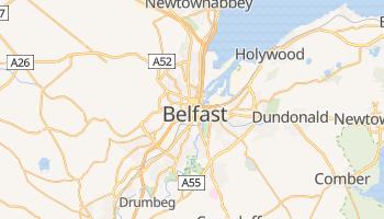 Mapa online de Belfast