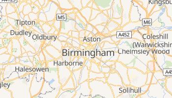 Mapa online de Birmingham (UK)