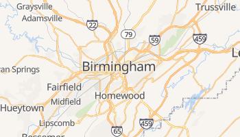 Mapa online de Birmingham (USA)
