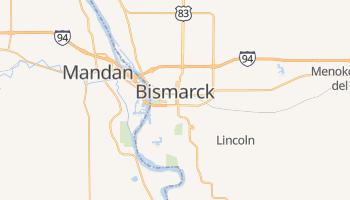 Mapa online de Bismarck