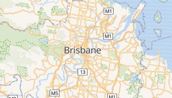 Mapa online de Brisbane