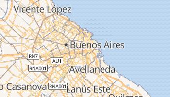 Mapa online de Buenos Aires