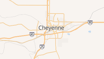 Mapa online de Cheyenne