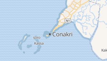 Mapa online de Conakry
