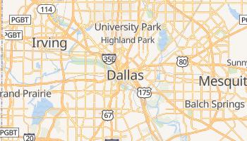 Mapa online de Dallas