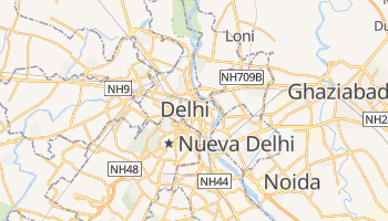 Mapa online de Delhi