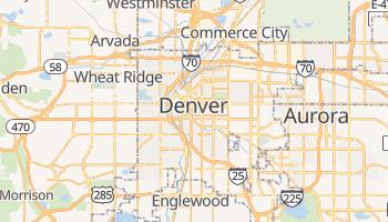 Mapa online de Denver