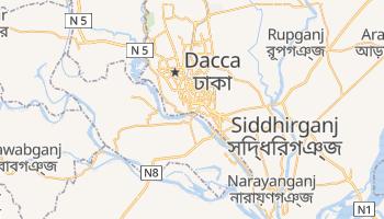 Mapa online de Dhaka