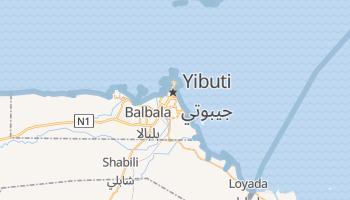Mapa online de Yibuti