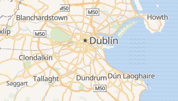 Mapa online de Dublín