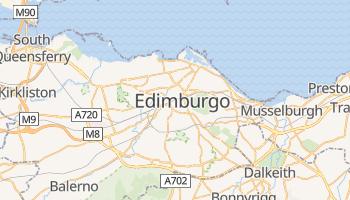 Mapa online de Edimburgo