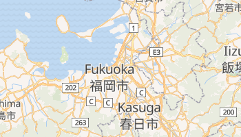 Mapa online de Fukuoka