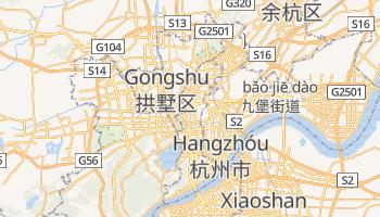 Mapa online de Hangzhou